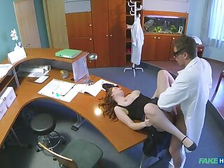 Doctor Gives His New Receptionist A Full Conclave Fucking