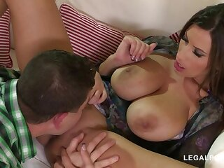 Fucking for forgiveness gives busty north-easter Sensual Jane endless climaxes GP889