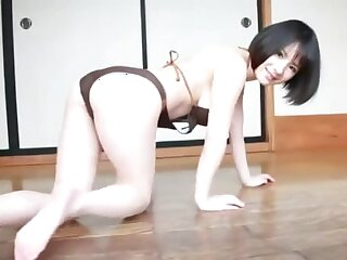 Alluring Rin Minami shows missing her stunning body magic ass and nice pussy