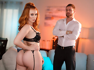 Hot Secure b abscond with Head Madison Morgan takes a huge cock